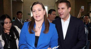 El helicóptero de la gobernadora de Puebla iba a CDMX; en Puebla se queda Almeida al mando