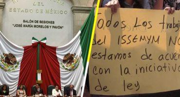 ¡Tssss! Congreso del Edomex tumba ley de pensiones del ISSEMyM
