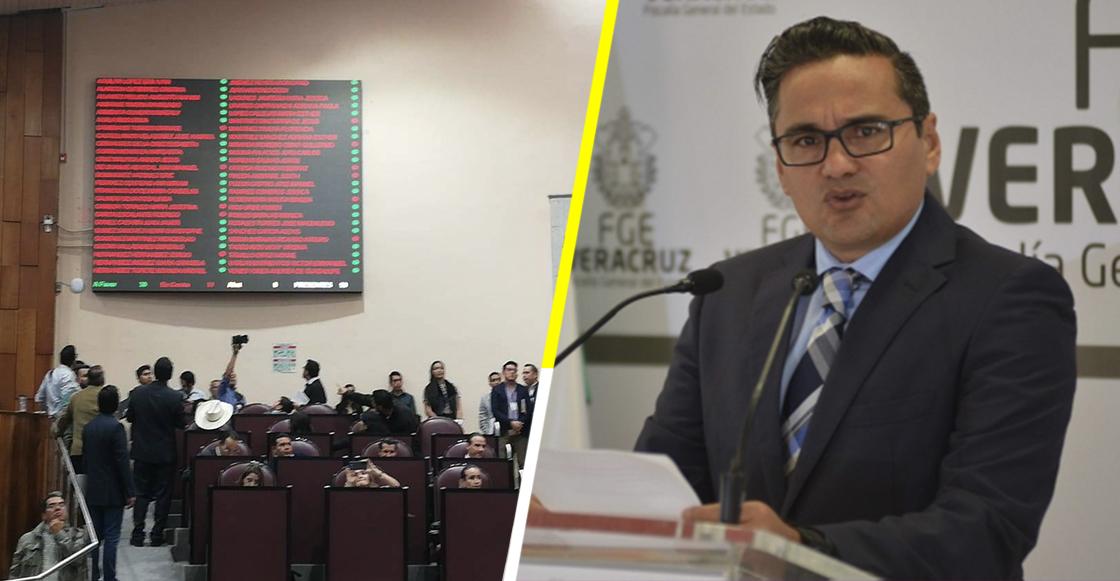 Congreso de Veracruz aprueba reforma que le permite destituir al Fiscal General