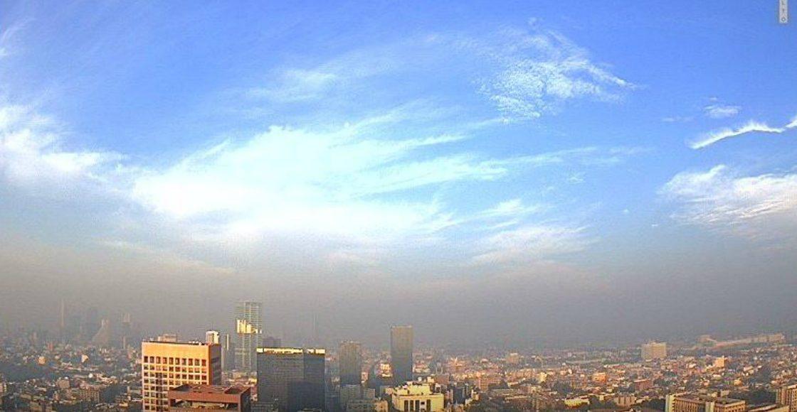 ¡Aguas! Se reporta mala calidad del aire en la Ciudad de México