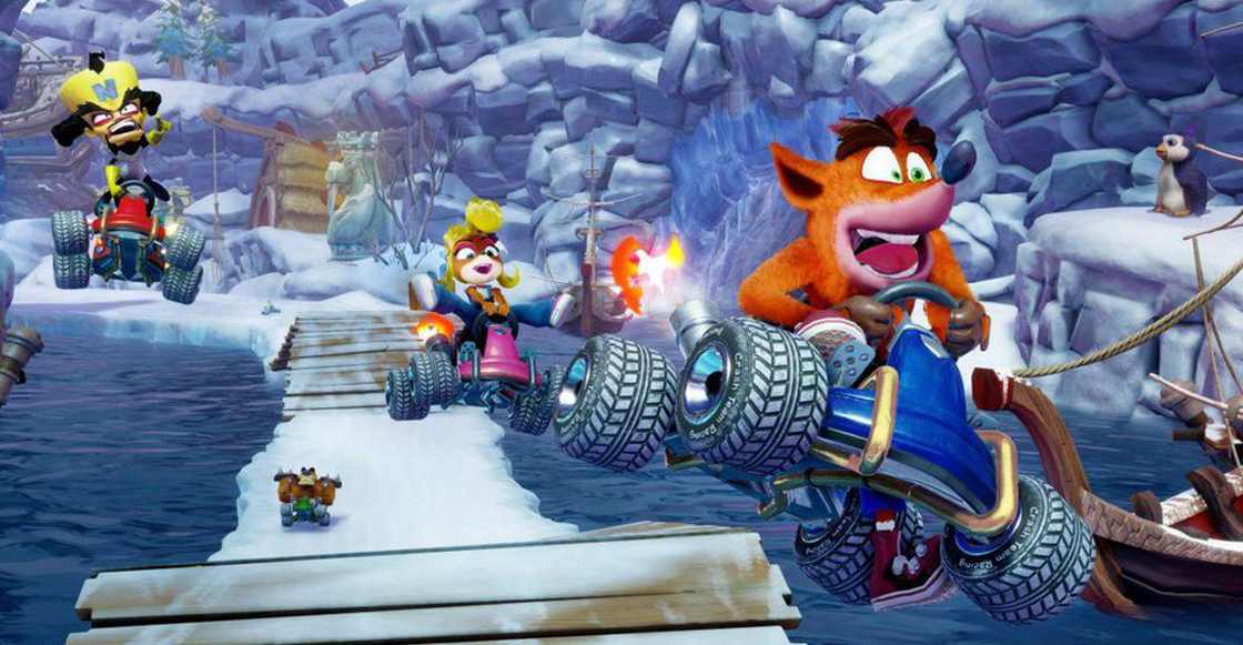 Tiembla, Mario Kart: ¡Crash Team Racing por fin está de regreso!
