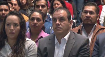 Arman misa a la Virgen en palacio de gobierno de Morelos;