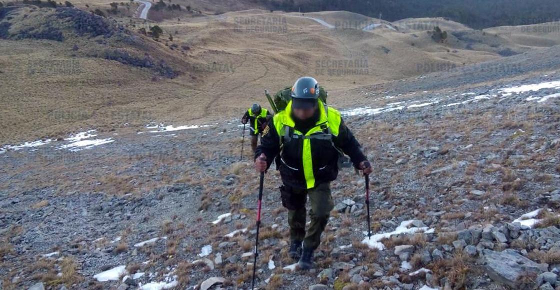 Encuentran cuerpo de joven desaparecido en el Nevado de Toluca