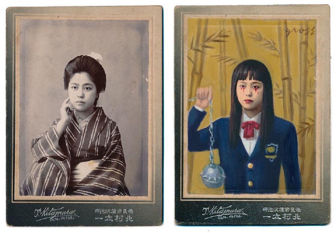 Fotografías y retratos viejos como héroes de la cultura pop