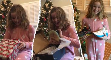 La niña que le escribió a Steph Curry, recibió DOS regalos del basquetbolista 😱