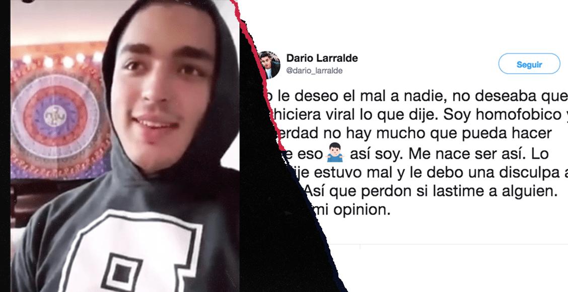 Darío Larralde, boxeador mexicano, en problemas por sus declaraciones
