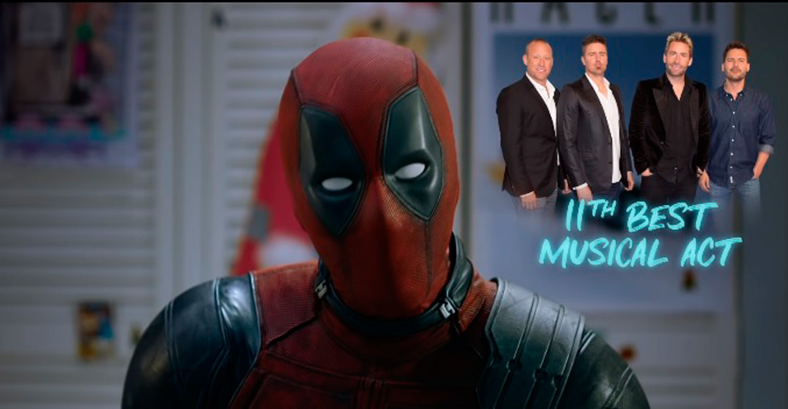 Deadpool 'se pone la camiseta' para defender a Nickelback en el teaser de 'Once Upon a Deadpool'