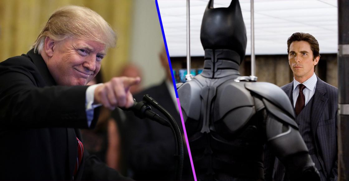 Donald Trump pensó que Christian Bale era en realidad Bruce Wayne