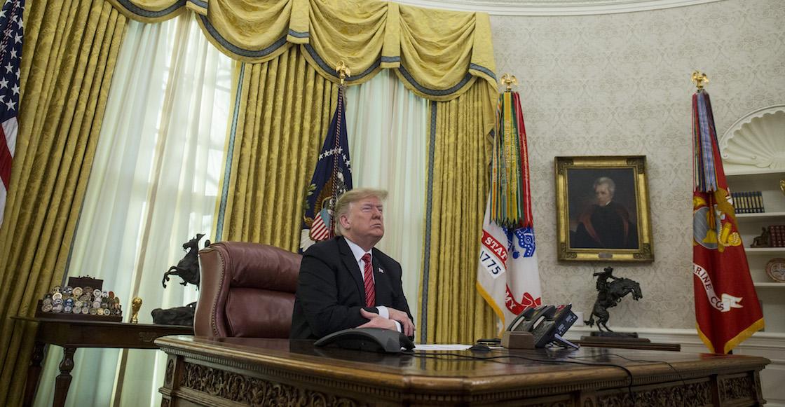 Trump pide reunión para conseguir el dinero del Muro... y lo batean