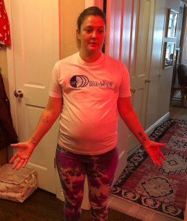 Drew Barrymore se une a la lucha contra el sobrepeso