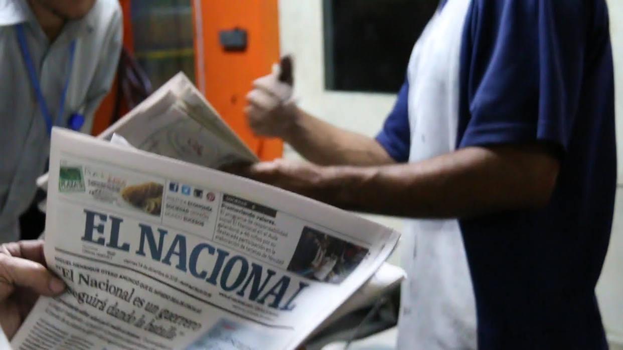 """Periódico de Venezuela, """"El Nacional"""""""