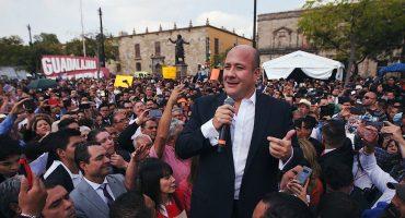 Enrique Alfaro, gober de Jalisco, reclama a AMLO los recortes en el presupuesto