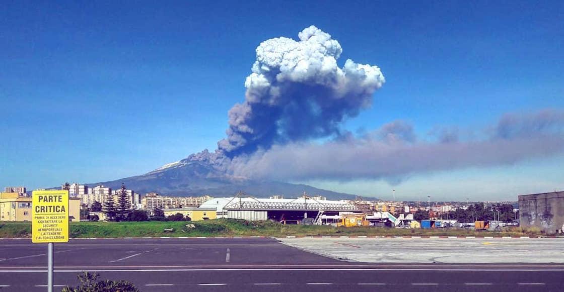 El volcán Etna hace erupción y desencadena más de 100 sismos