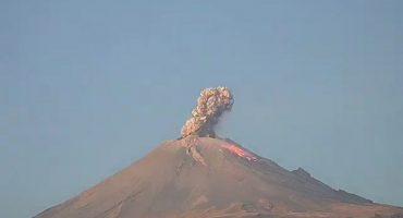 Vuelve a estallar el Popocatépetl; la alerta se mantiene en amarillo fase 2