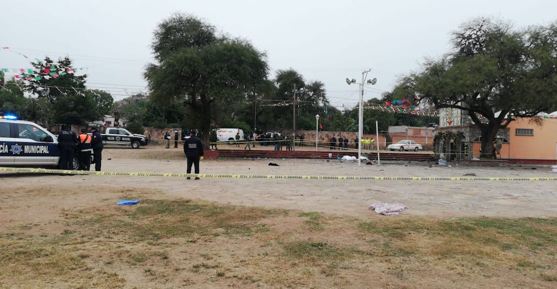 Explota pirotecnia en capilla de Tequisquiapan; hay al menos tres muertos
