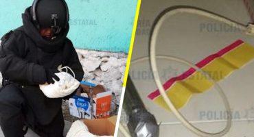 Encuentran otros dos presuntos artefactos explosivos en Walmart de Ecatepec