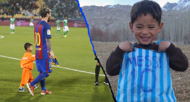 Talibanes amenazan con matar o secuestrar a Murtaza Ahmedi, el pequeño fan de Messi