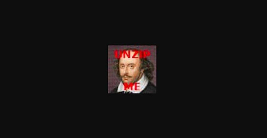 Todos los trabajos de Shakespeare en una pequeña foto