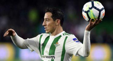 ¡Auch! Andrés Guardado salió lesionado en duelo de mexicanos en La Liga Española