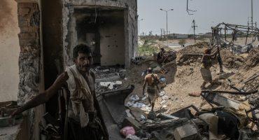 Mundo enfermo y triste: Están robando los alimentos de los civiles que viven la guerra de Yemen