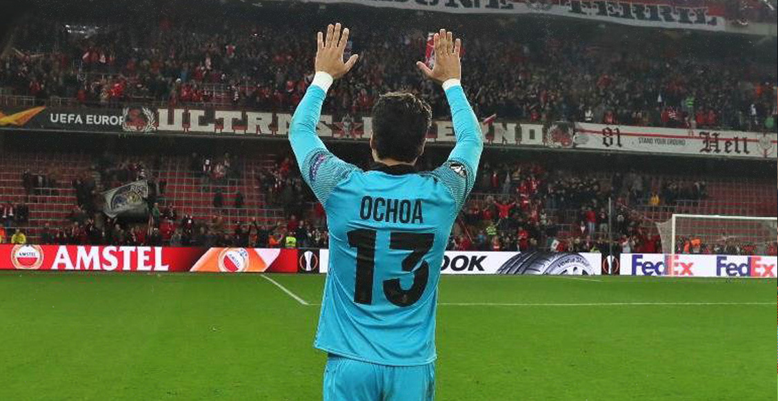¡El mejor portero! Guillermo Ochoa es elegido jugador del mes en Bélgica