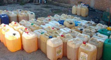 Comienza el anti-huachicoleo: PF decomisa 52 mil litros de gasolina robada