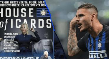 'House of Icards': Wanda vuelve loco al Inter por la renovación de Icardi