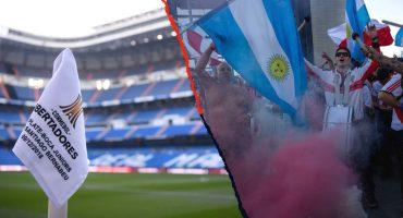 En imágenes: Así luce la 'invasión argentina' en el Bernabéu previo a la Final de la Copa Libertadores