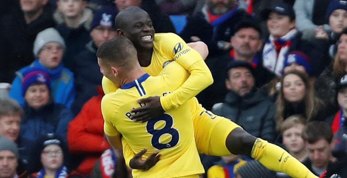 En imágenes: Chelsea derrotó al Crystal Palace y aprieta la punta de la Premier League