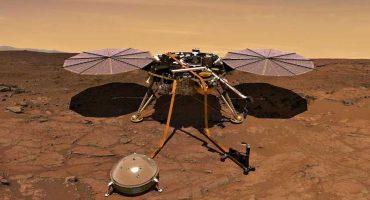 Checa la primer selfie tomada por la sonda InSight en Marte