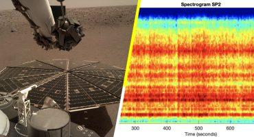 ¡Wow! La sonda espacial Insight de la NASA logró captar el sonido del viento marciano