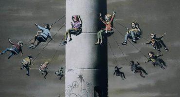 Intentan robar obra de Banksy en un museo de Milán 😮