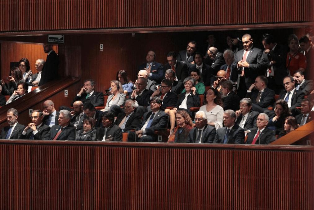En Imágenes: Así se vivió la toma de protesta de AMLO en el Congreso