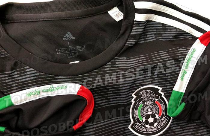 ¡De vuelta al negro! Se filtró el nuevo uniforme de la Selección Mexicana para 2019