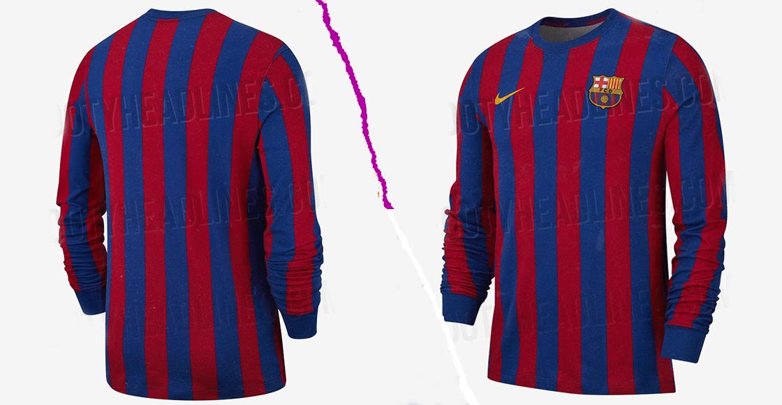 c1f1dfb5 El 2019 llegará con un jersey retro de para aficionados del Barcelona