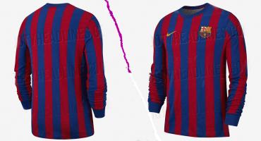 El 2019 llegará con un jersey retro de para aficionados del Barcelona