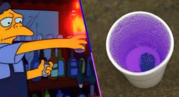 Los Simpsons predicen de nuevo: Dos menores se intoxicaron al beber una