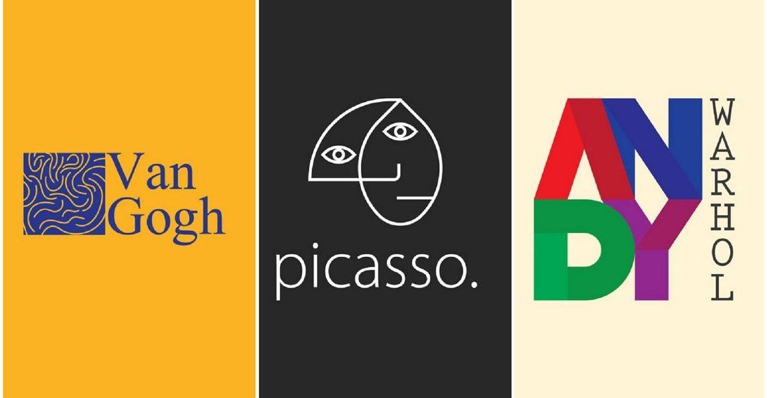 Logotipos de pintores famosos