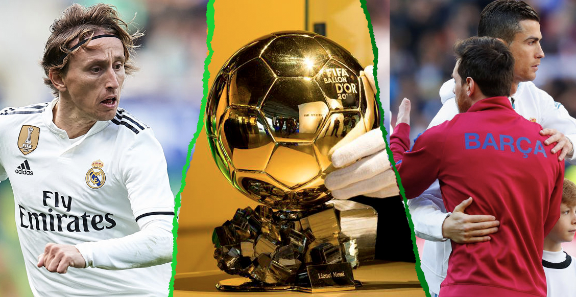 ¡Histórico! Modric es el cuarto ganador del Balón de Oro en la época Messi - Cristiano
