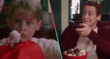 ¿Ya es Navidad? Macaulay Culkin recrea icónica secuencia de 'Mi Pobre Angelito'