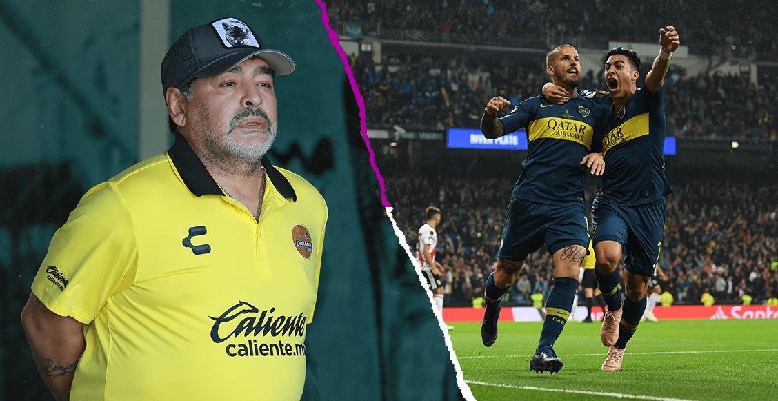 Maradona le hace ojitos a Boca Juniors, asegura la prensa argentina