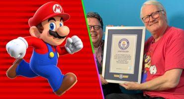 Mamma mía! El actor que hace la voz de Mario Bros entró al libro de Récords Guinness