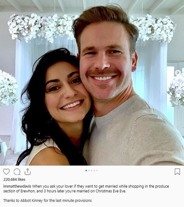Warner, de 'Legalmente Rubia', se casó 3 horas después de pedirle matrimonio a su novia