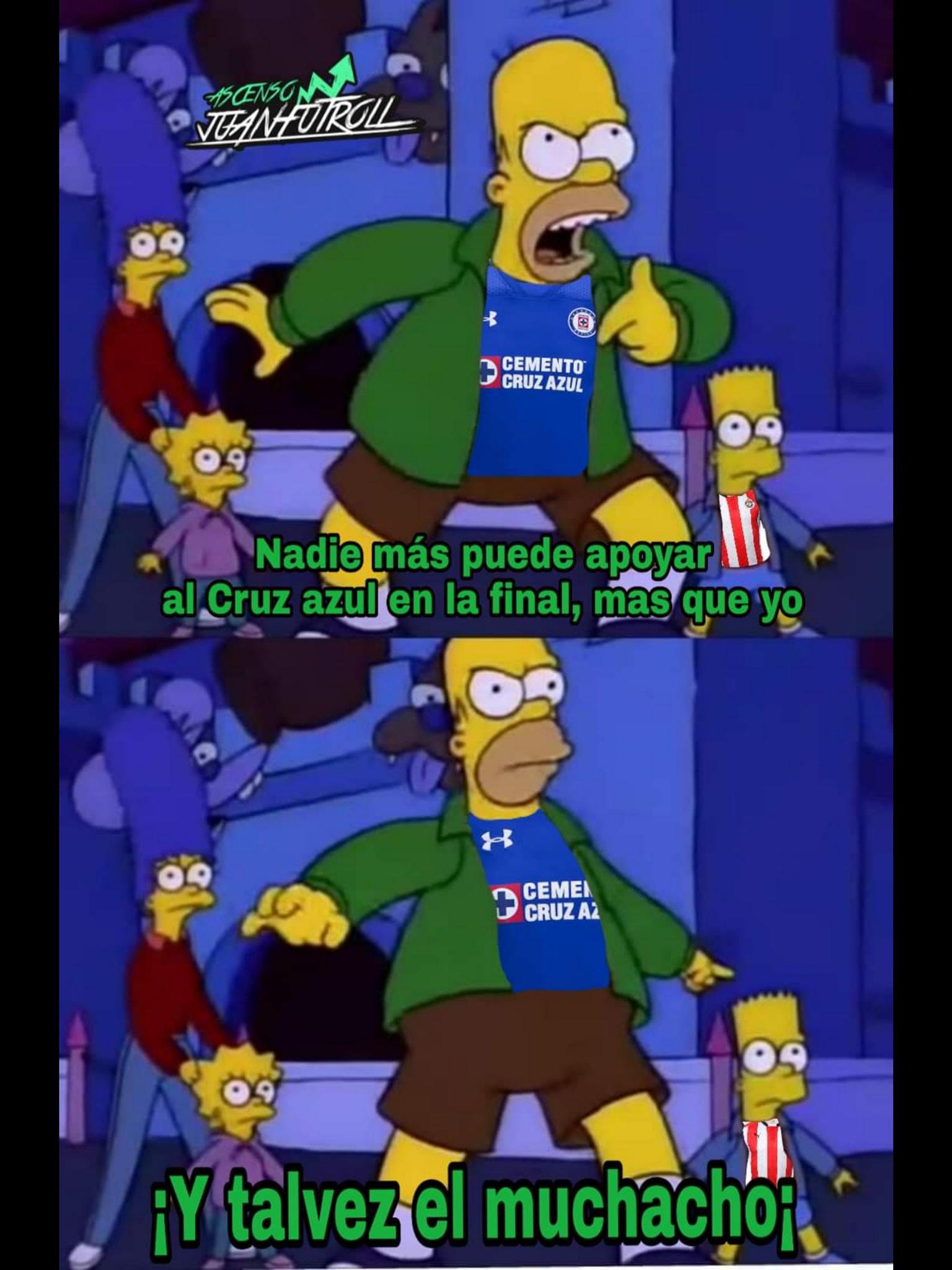 Viendo cruz azul vs america con mi prima - 2 2