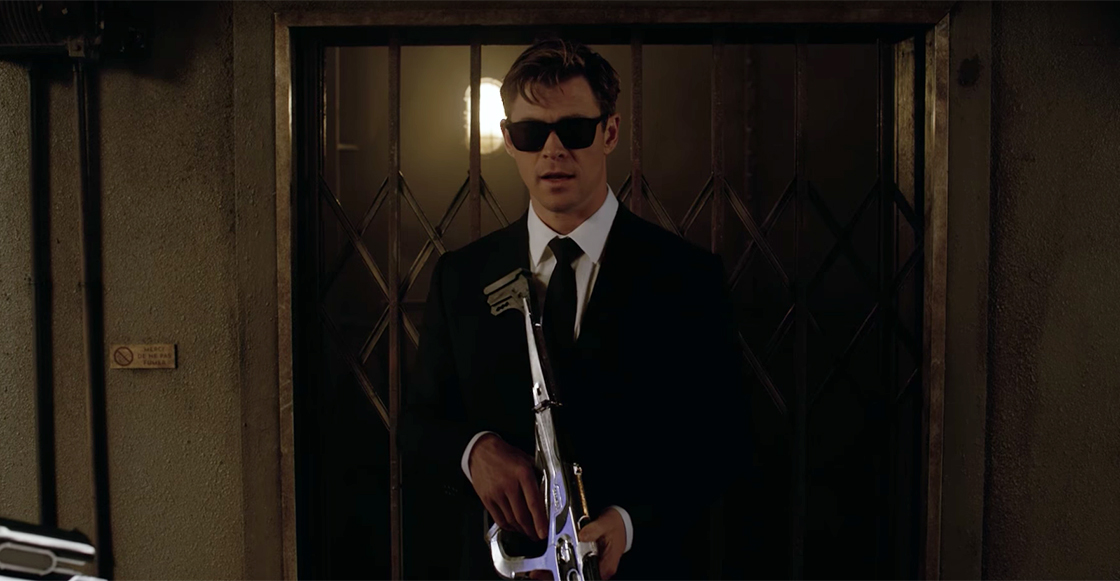 Checa el primer tráiler oficial de 'Men In Black' con Chris Hemsworth y Tessa Thompson