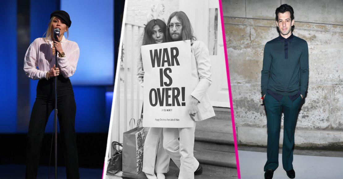Escucha el cover de Miley Cyrus y Mark Ronson a 'Happy Xmas (War Is Over)' de John Lennon