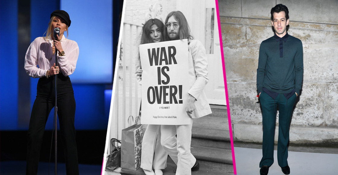Escucha el cover de Miley Cyrus y Mark Ronson a 'Happy Xmas (War Is Over)' de John Lennon