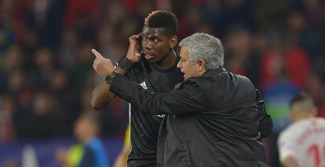 Mourinho y Pogba habrían discutido en los vestidores; 'Mou' descargó toda su furia