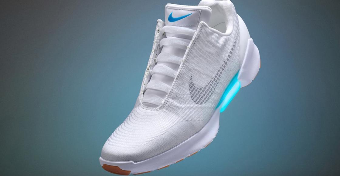 """best sneakers 6531a 211bf Como en Back to the Future Nike lanzará nuevos tenis que se atan solos y  ahora sí serán """"baratos"""""""