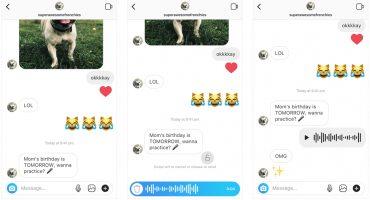 El suplicio continúa: Ya se pueden enviar notas de voz por Instagram